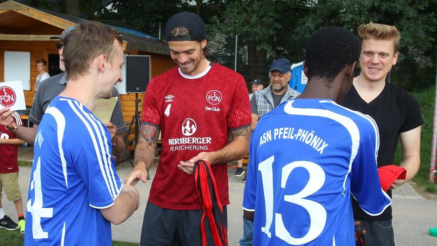 Fußball verbindet: Nürnberger Integration beim Flüchtlingsturnier