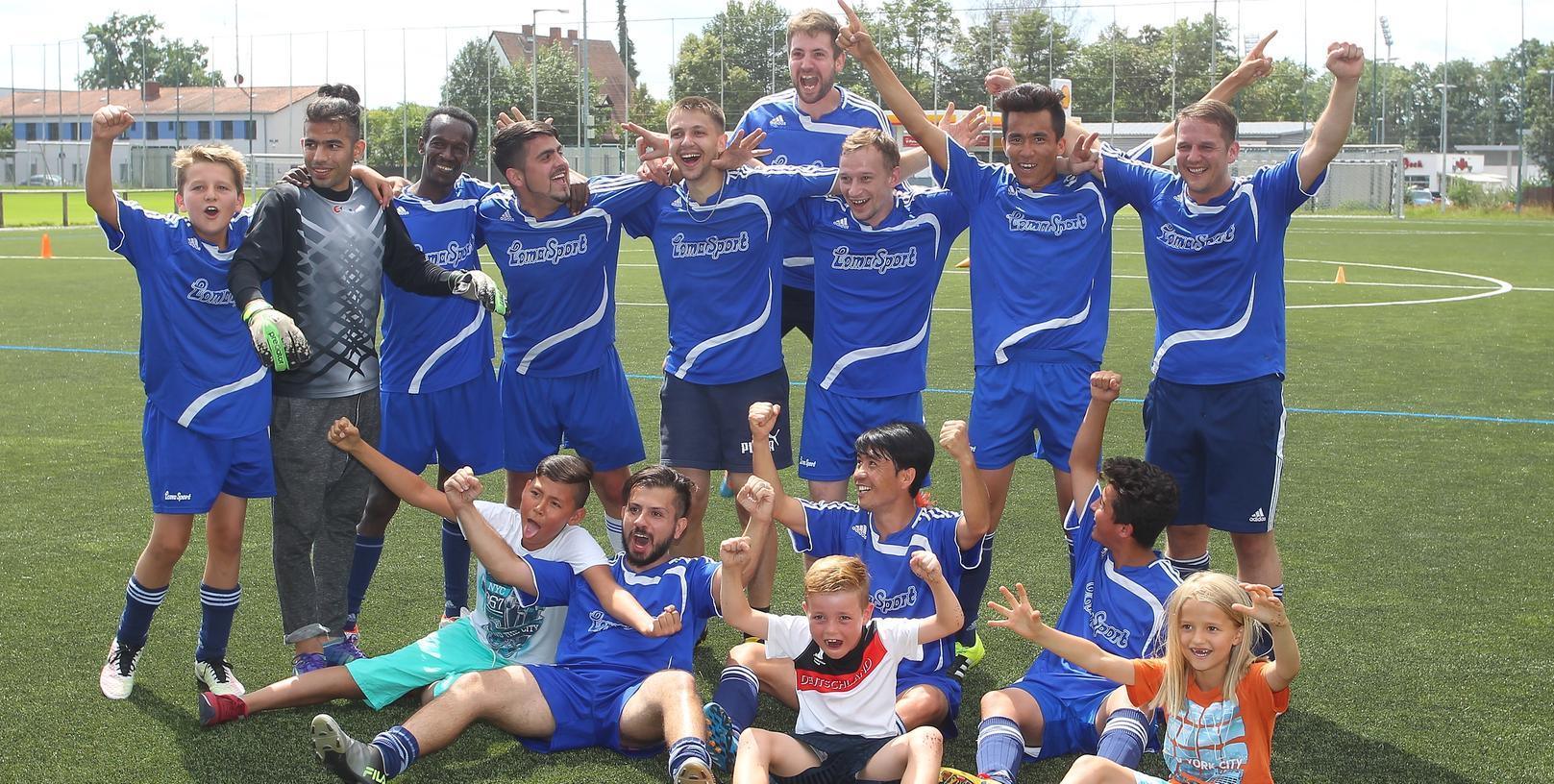 Integration durch Sport ist das Ziel von