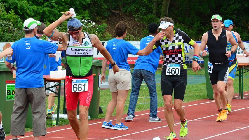 Mehr als 10.000 Zuschauer beim Erlanger M-net Triathlon