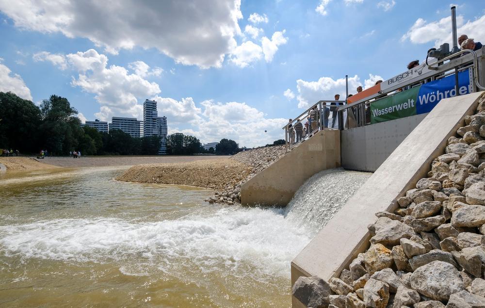 Die Wasserqualität in der neuen Norikusbucht soll
