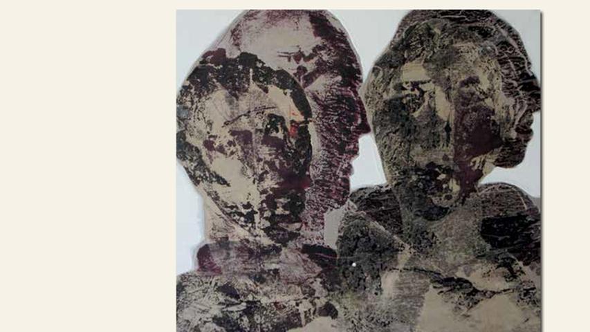 geb. 1969 in Nürnberg lebt in Paris Aliené, unter Einfluss (2016) 50 x 50 cm Öl, Acryl und Tusche auf Papier