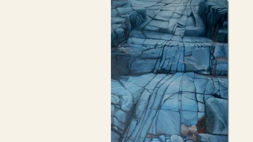 geb. 1951 in Berlin lebt in Fürth Auf dem Weg (2016) 50 x 70 cm Acryl auf Leinwand nominiert vom Preisstifter