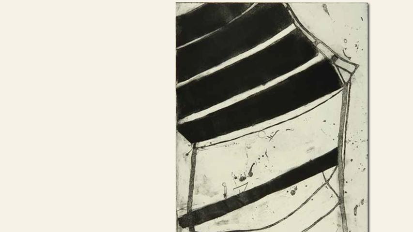 geb. 1942 in Genua, Italien lebt in Lauf ohne Titel I (2015) 70 x 50 cm Aquatinta-Radierung