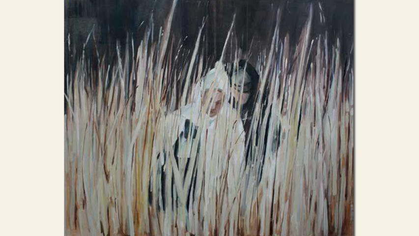 geb. 1944 in Lauf lebt in Nürnberg ohne Titel (2015) 110 x 130 cm Öl auf Leinwand
