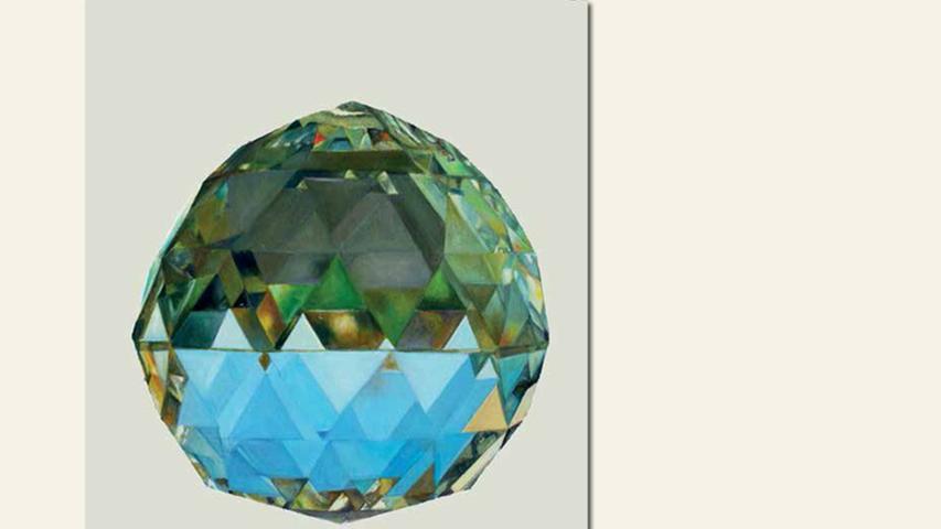 geb. 1978 in Augsburg lebt in Nürnberg ohne Titel (Kristalle) (2016) 50 x 40 cm Öl und Aquarell auf Papier