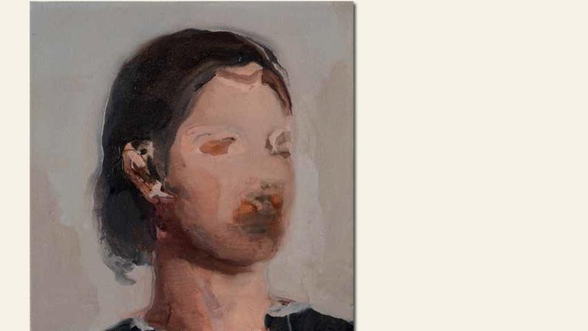 geb. 1987 in Montecchio Emilia, Italien lebt in Nürnberg Selbstporträt (2016) 30 x 25 cm Öl auf Leinwand