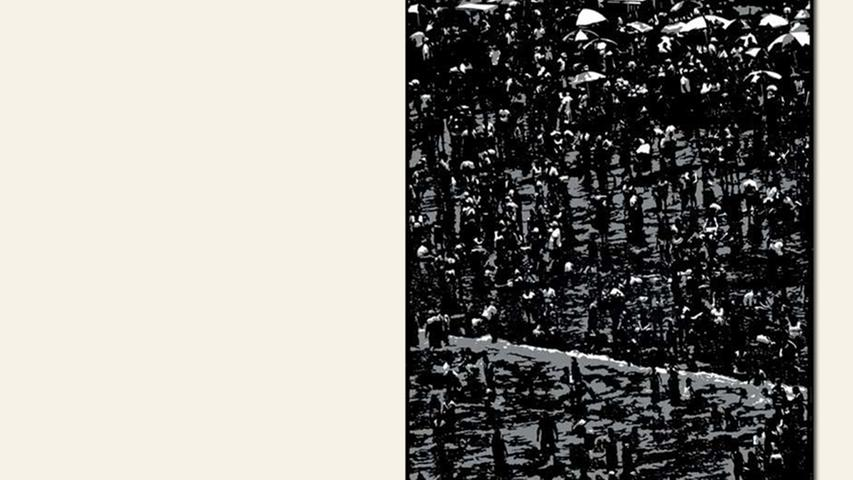geb. 1961 in Bamberg lebt in Bamberg Schattendasein (2015) 100 x 70 cm Scherenschnitt
