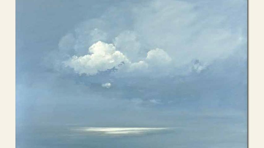 geb. 1936 in Stettin lebt in Nürnberg Wolkenlicht (2015) 80 x 120 cm Acryl auf Leinwand