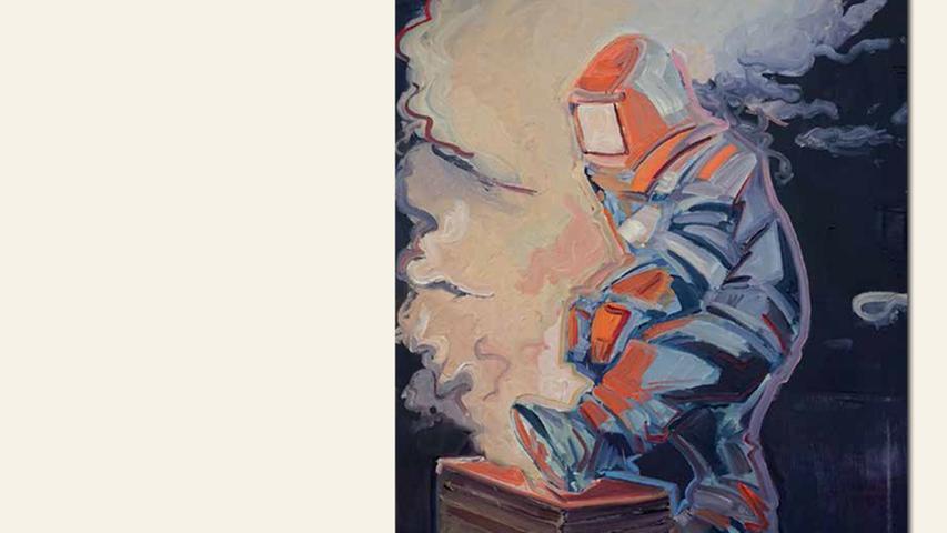geb. 1979 in Dresden lebt in Nürnberg the unknown (2015) 100 x 80 cm Öl auf Leinwand nominiert vom Preisstifter