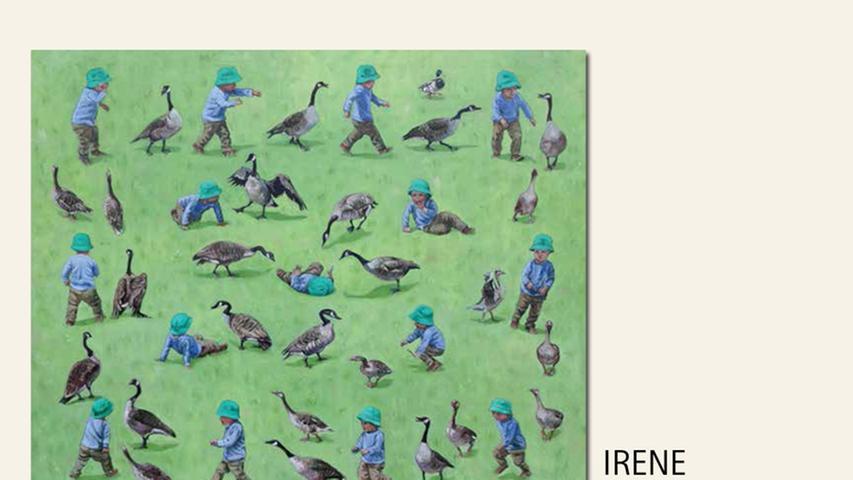 geb. 1957 in Kustanaj, Kasachstan lebt in Nürnberg Gehänsel 100 x 120 cm Tempera und Öl auf Leinwand nominiert vom Preisstifter
