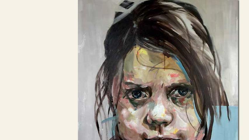 geb. 1965 in Nürnberg lebt in Nürnberg ohne Titel 1 (2016) 130 x 130 cm Acryl auf Leinwand nominiert vom Preisstifter
