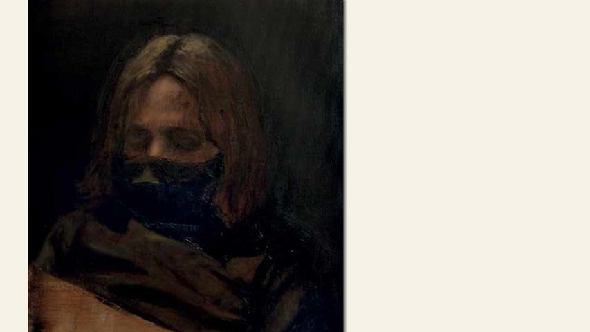 geb. 1982 in Szolnok, Ungarn lebt in Nürnberg Rätselhaftigkeit (2015) 50 x 40 cm Öl auf Leinwand
