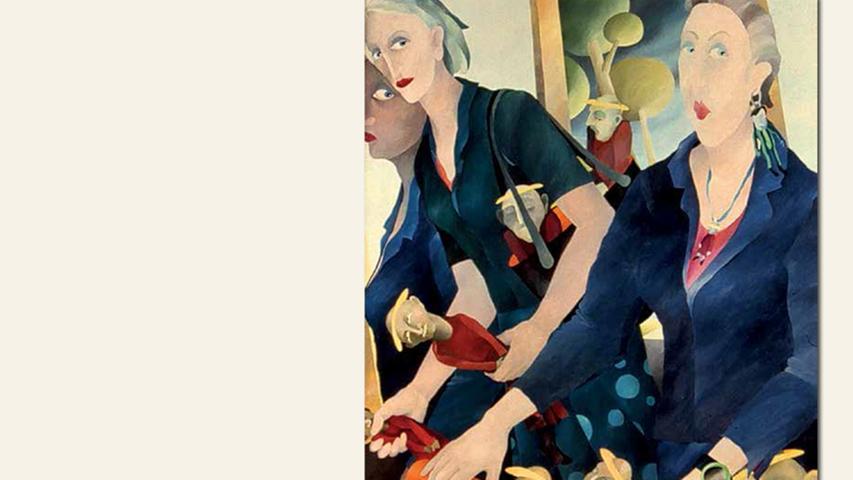 geb. 1947 in Kempten lebt in Schwabach Die Mahlzeit des Henkers (2013) 80 x 80 cm Gouache und Pinsel auf Leinwand