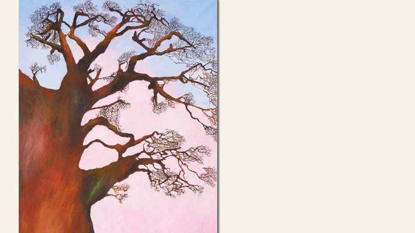 geb. 1936 in Breslau lebt in Schwarzenbruck Olivenbaum (2016) 120 x 160 cm Öl/Acryl