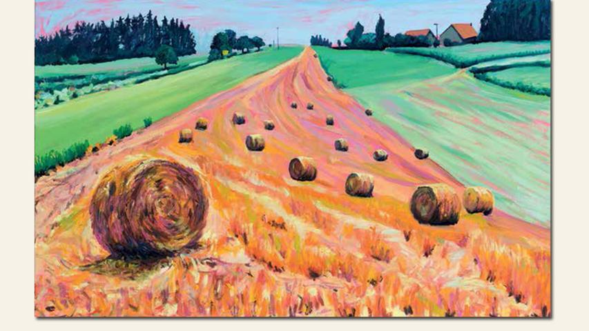 geb. 1973 in Neumarkt/Opf. lebt in Salching Pinky Strohrund (2016) 50 x 80 cm Öl auf Leinwand
