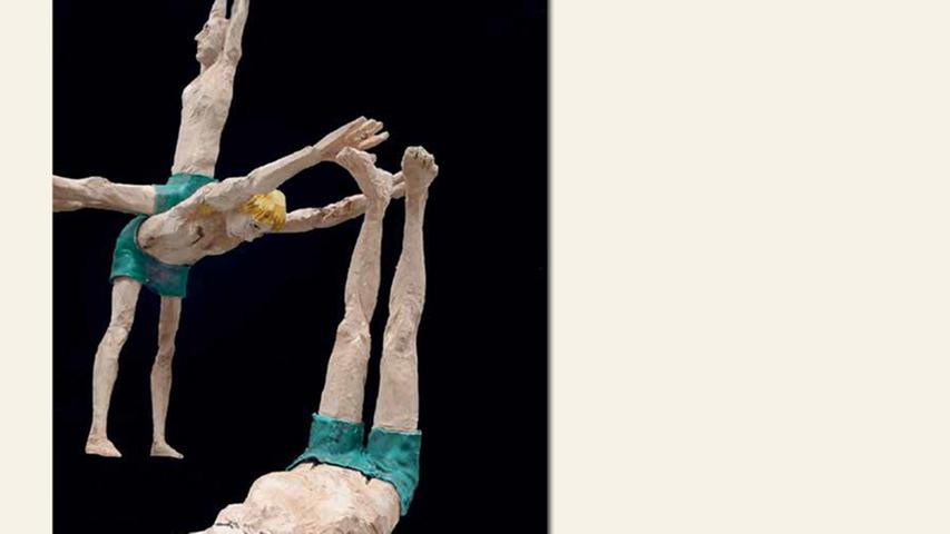 geb. 1959 in Schwabach lebt in Schwabach Modul Brothers (2015) je 140 x 50 x 130 cm, 30 kg Pappel/PE