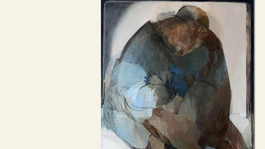 geb. 1983 in Nürnberg lebt in Nürnberg ohne Titel (2015) 130 x 110 cm Öl auf Leinwand