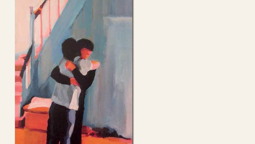 geb. 1967 in Erlangen lebt in Nürnberg mon amour (2016) 50 x 70 cm Acryl auf Leinwand nominiert vom Preisstifter