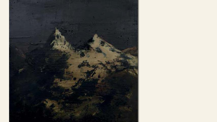 geb.1988 in Monza, Italien lebt in Nürnberg Muntagn (2014) 61 x 53,5 cm Öl auf Holzplatte