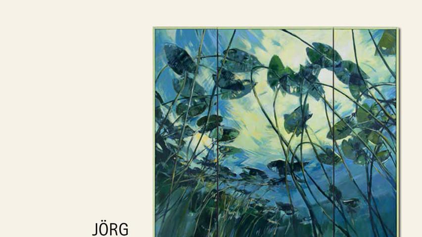 geb. 1959 in Hagen/Westfalen lebt in Regensburg Kathedrale der Fische (2016) 250 x 270, dreiteilig Acryl auf Leinwand