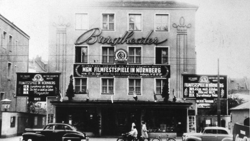1954 fanden dort die MGM-Filmfestspiele statt.