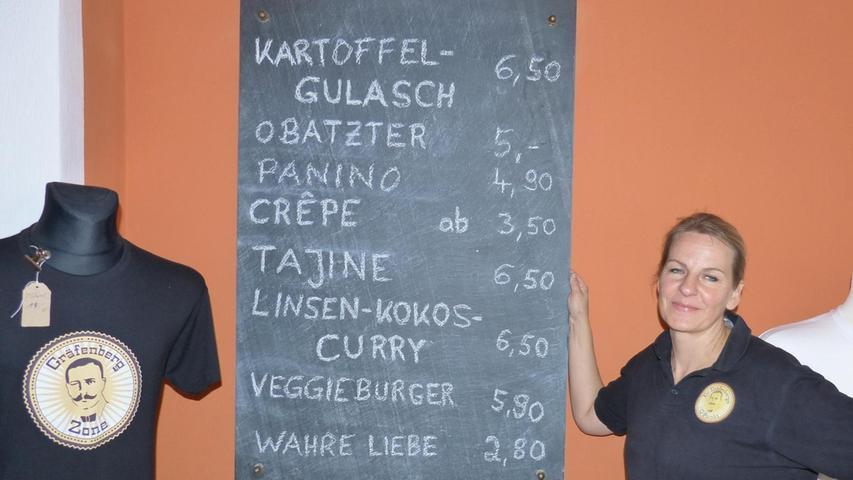 Gräfenberg: Kokos-Curry im vegetarischen Biergarten