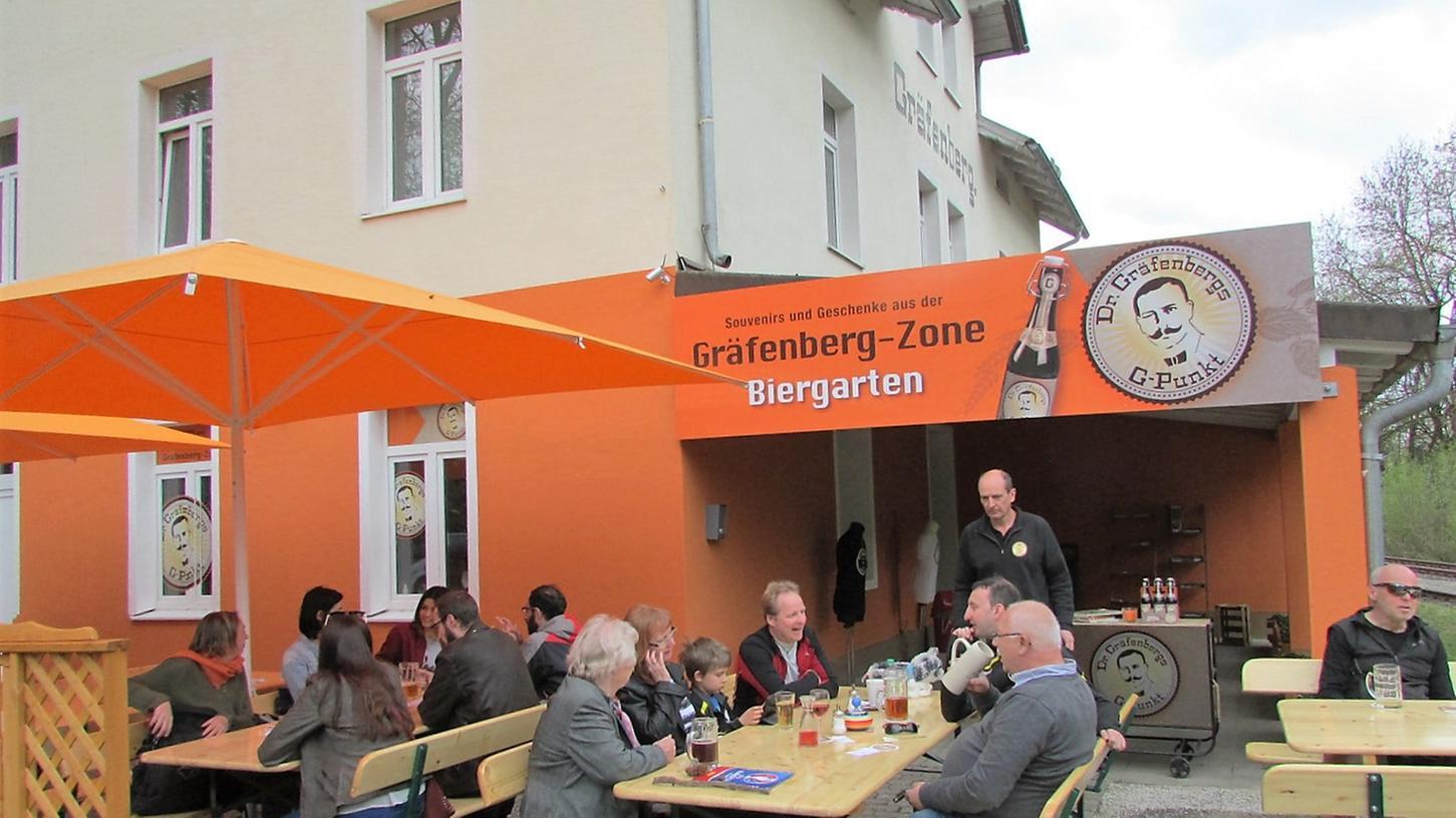 Erster vegetarisch-veganer Biergarten in der Fränkischen Schweiz in Gräfenberg.