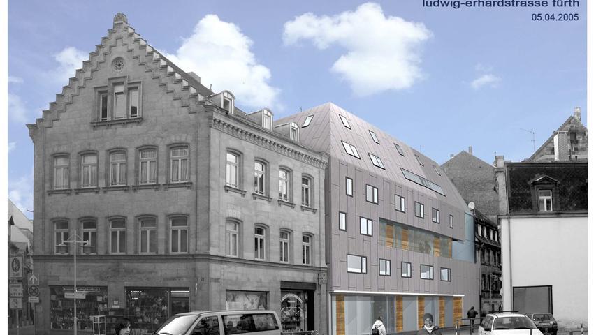 Für heftige Diskussionen sorgte 2008 auch ein anderes Projekt: der Neubau für die Lebenshilfe, der in der Ludwig-Erhard-Straße entstehen sollte.