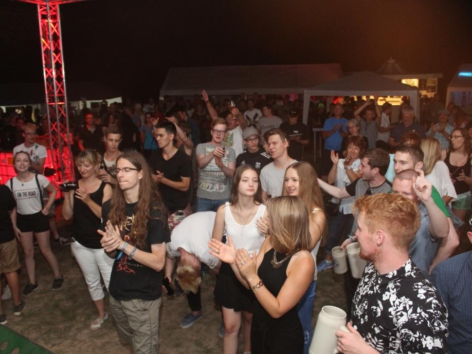 Höchstadt , 27.08.2016..Ressort: Lokales Fotografie: Christian Enz..Jugendkonzert Engelgarten ,
