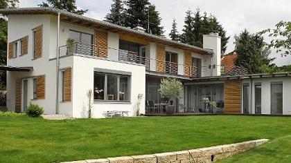 In der Ebrardstraße 33 a befindet sich der bemerkenswerte Wohnhausneubau der Familie Gladen.