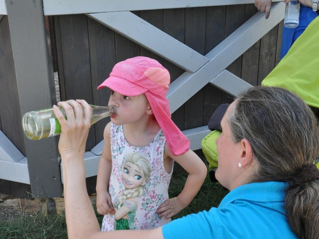Kinderprogramm im Engelgarten oder handwerkerhof in Höchstadt..Foto: Paul Neudörfer