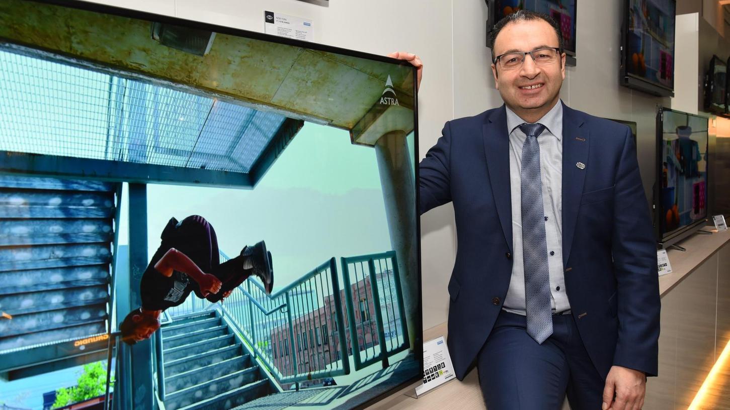 Die Grundig Intermedia GmbH in Nürnberg (im Bild Geschäftsführer Sühel Semerci) ist bald Geschichte.