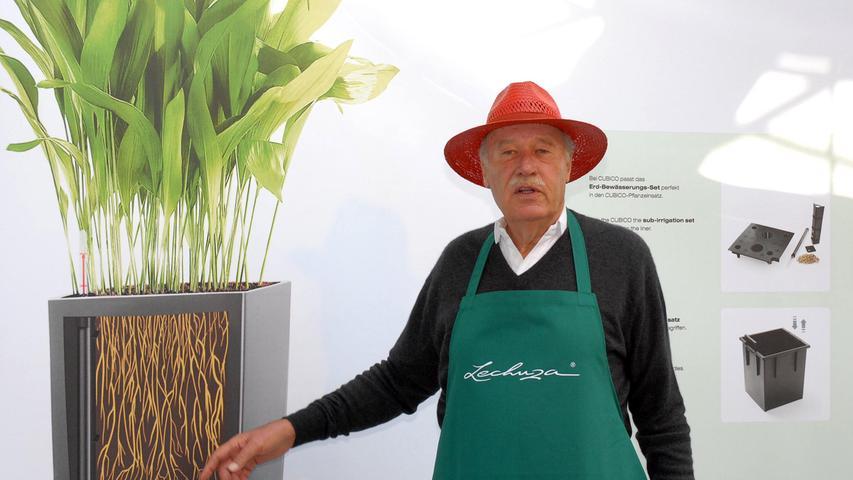 Damit das Unternehmen nicht ausschließlich von einer Produktgruppe abhängt, setzte Alleininhaber Brandstätter zur Jahrtausendwende auf ein zweites Standbein: Pflanzgefäße der Marke Lechuza.