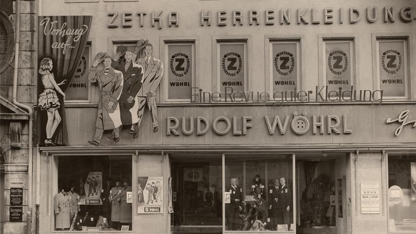 Angetrieben von seiner Frau Berta wurde das Kleidungsunternehmen wieder aufgebaut. 1949 entstand am Weißen Turm, im Rückgebäude des alten Geschäftshauses in der Vorderen Ledergasse 17, ein neues Modehaus. Auf der damals 60 Quadratmeter großen Verkaufsfläche waren 15 Angestellte beschäftigt.