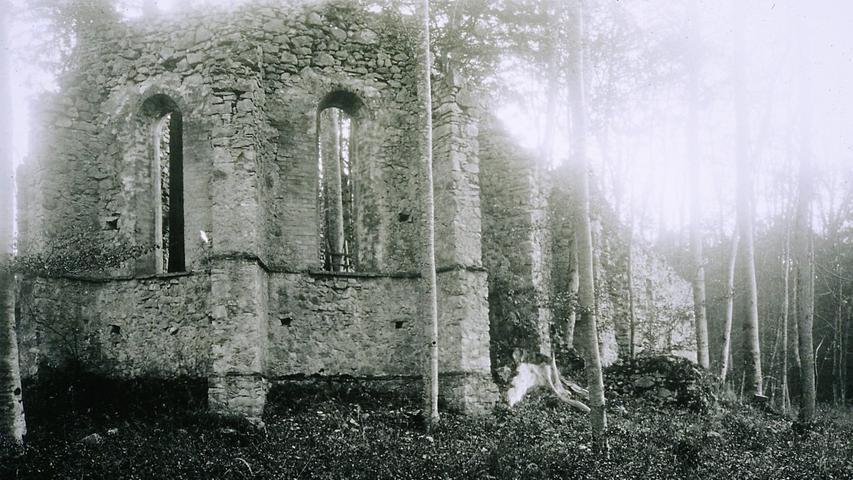 100 Jahre Grusel-Faktor: Die Uhlberg-Kapelle bei Treuchtlingen