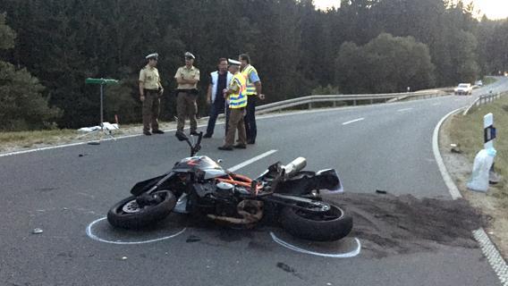 Tödlicher Motorradunfall Dinkelsbühl