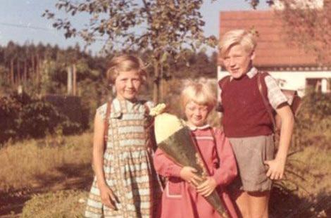 Zwei Jahre Später, 1959, ist dann Brigittes Schwester Erika an der Reihe.