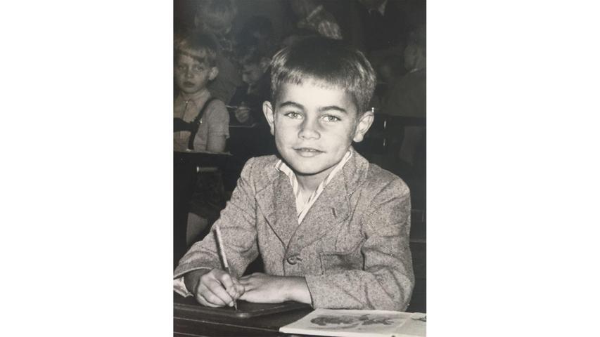 Werner Diekstall wurde 1957 in Niedersachen eingeschult. Heute lebt er in Rückersdorf.