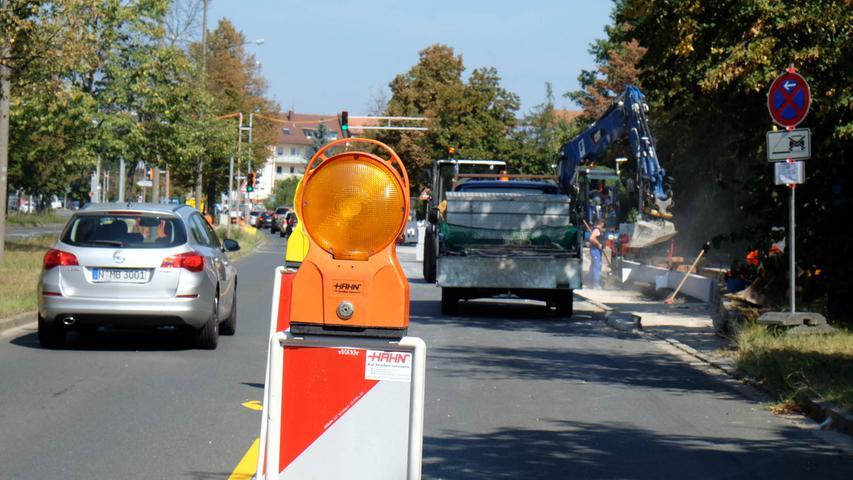 Am Ben-Gurion-Ring im Südosten kommt es wegen der Straßenbauarbeiten für das neue Ringbuskonzept der VAG noch bis Oktober zu Verkehrs-beeinträchtigungen.