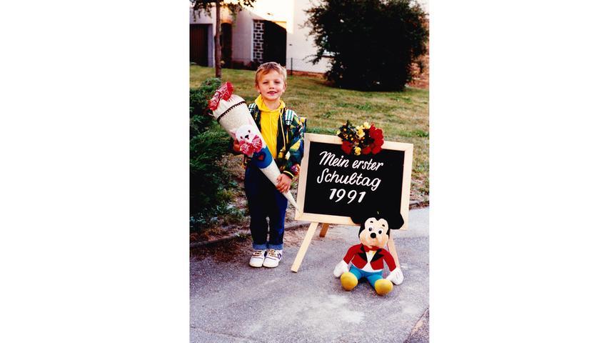 Am 10.September 1991 war Patrick Kemper noch recht klein.