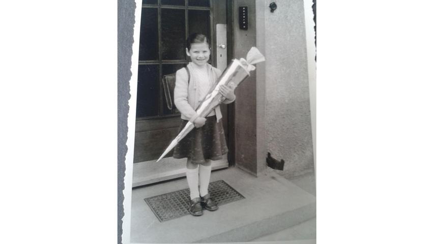 Doris Steurer aus Pinzberg kam 1956 in Stuttgart in die Schule.