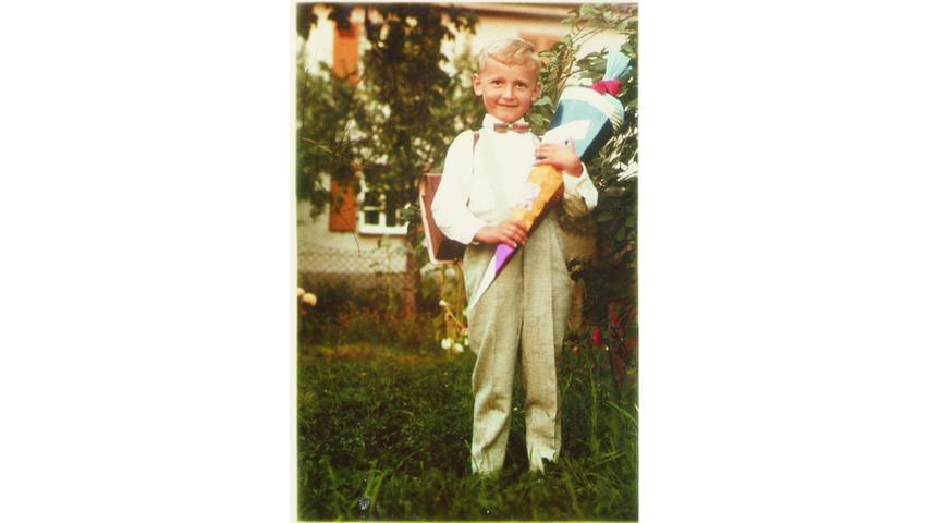 Werner Oßwald aus Rednitzhembach kam im September 1963 in die in die Volksschule in Katzwang.