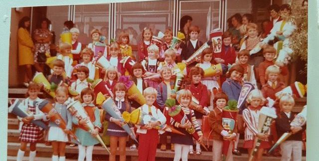Farben über Farben - die 70er eben.