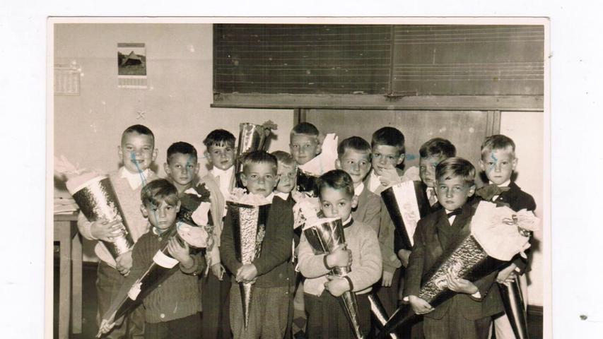Reiner Lohschelder aus Rügland war bei seiner Einschulung sieben Jahre alt - und der Größte in der Klasse.