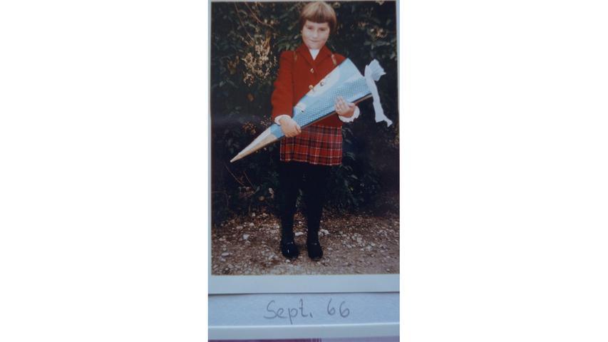 Claudia Ehrke feiert in diesen Tagen Jubiläum. Vor genau 50 Jahren wurde sie eingeschult.