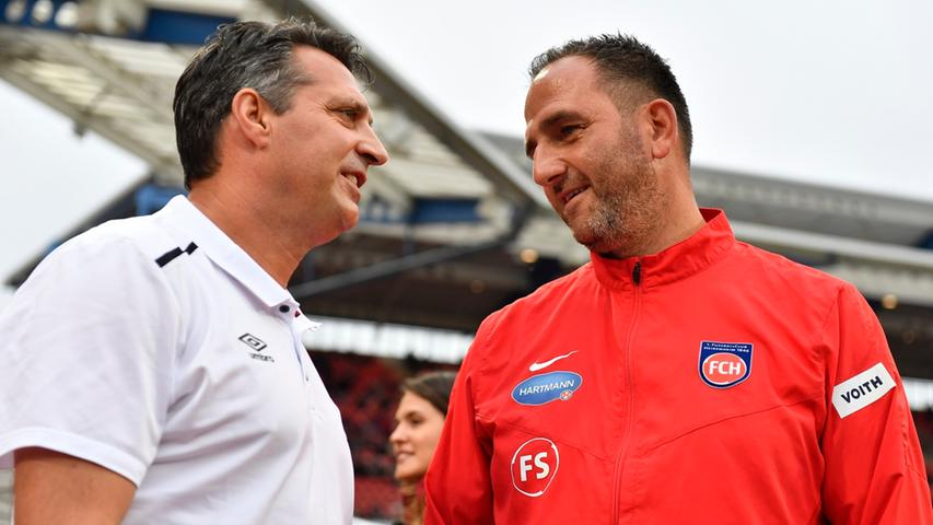 Auch gegen den 1. FC Heidenheim gelang Schwartz kein Sieg. Beim 1:1 spielte der Club über weite Strecken zu passiv.