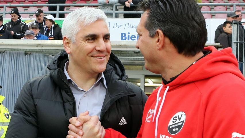 René Weiler wechselte in der Sommerpause zum belgischen Rekordmeister RSC Anderlecht, wodurch Sportvorstand Andreas Bornemann schnell handeln musste. Er entschied sich letztendlich für den Trainer des SV Sandhausen: Alois Schwartz. Ob sie sich hier in der letzten Saison schon über einen möglichen Trainerwechsel abgesprochen haben? Die (kurze) Zeit von Schwartz als Club-Trainer in Bildern.
