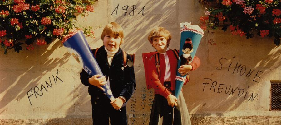 Gisela Forster aus Nürnberg hat uns Fotos ihres Sohnes Frank und seiner Freundin Simone aus dem Jahr 1981 geschickt.