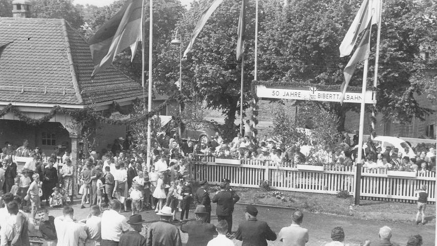 Bewegte Geschichte:  Endstation für die fränkische Bibertbahn