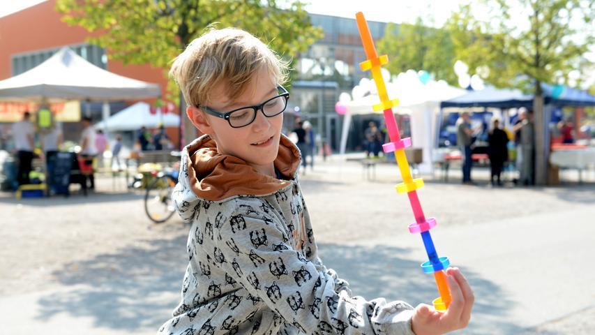 Jede Menge Spaß hatten die großen und kleinen Besucher auf dem Weltkindertag im Südstadtpark.